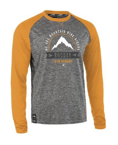 ElementStore - jersey - mount melange yellow
