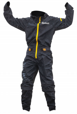 Dirtsuit Kids Edition Black Blue / Yellow