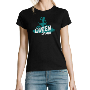 Koszulka damska - Queen of MTB