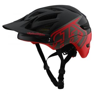 TLD Kask A1 Mips - Classic Black/Red