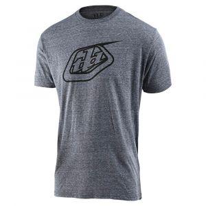 TLD T-shirt Logo Vintage Gray Snow