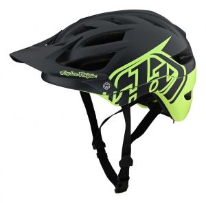 TLD kask A1 Mips - Classic Grey/Green