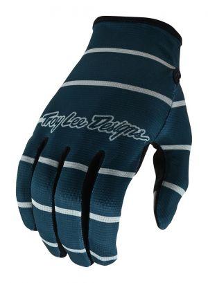 TLD Rękawiczki rowerowe Flowline - Stripe Blue Gray