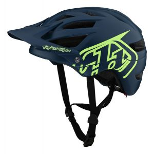 TLD A1 Kask Drone - Marine/Green