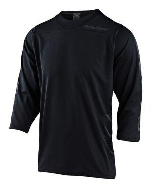 TLD Koszulka rowerowa z rękawem 3/4 Ruckus - Black