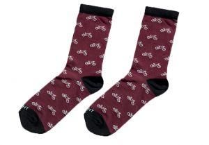 Bordeaux ponožky - Kola