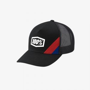 Czapka 100% Cornerstone X-Fit Adjustable Black