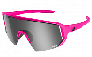 Okulary rowerowe Melon Alleycat - Pink Matte / Black / Silver Chrome