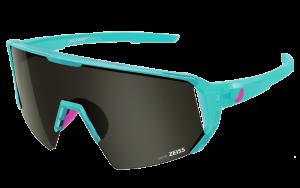 Okulary rowerowe Melon Alleycat - Turquoise / Neon Pink / Smoke