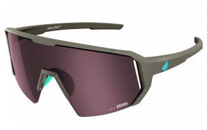 Okulary rowerowe Melon Alleycat - Grey Matte / Turquoise / Amber